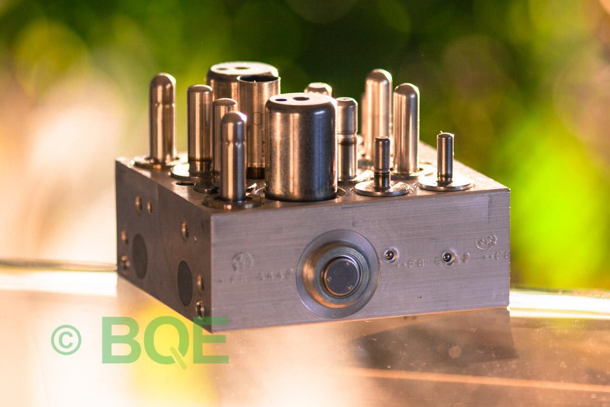 Ford ABS/ESP/IVD ATE Mk60, Artnr: 10096001293, 10020603304, 6M5Y-2C405-AC, Felkod: C1288, Bromstryckgivare, Hydraulblock, Vy: Sida.