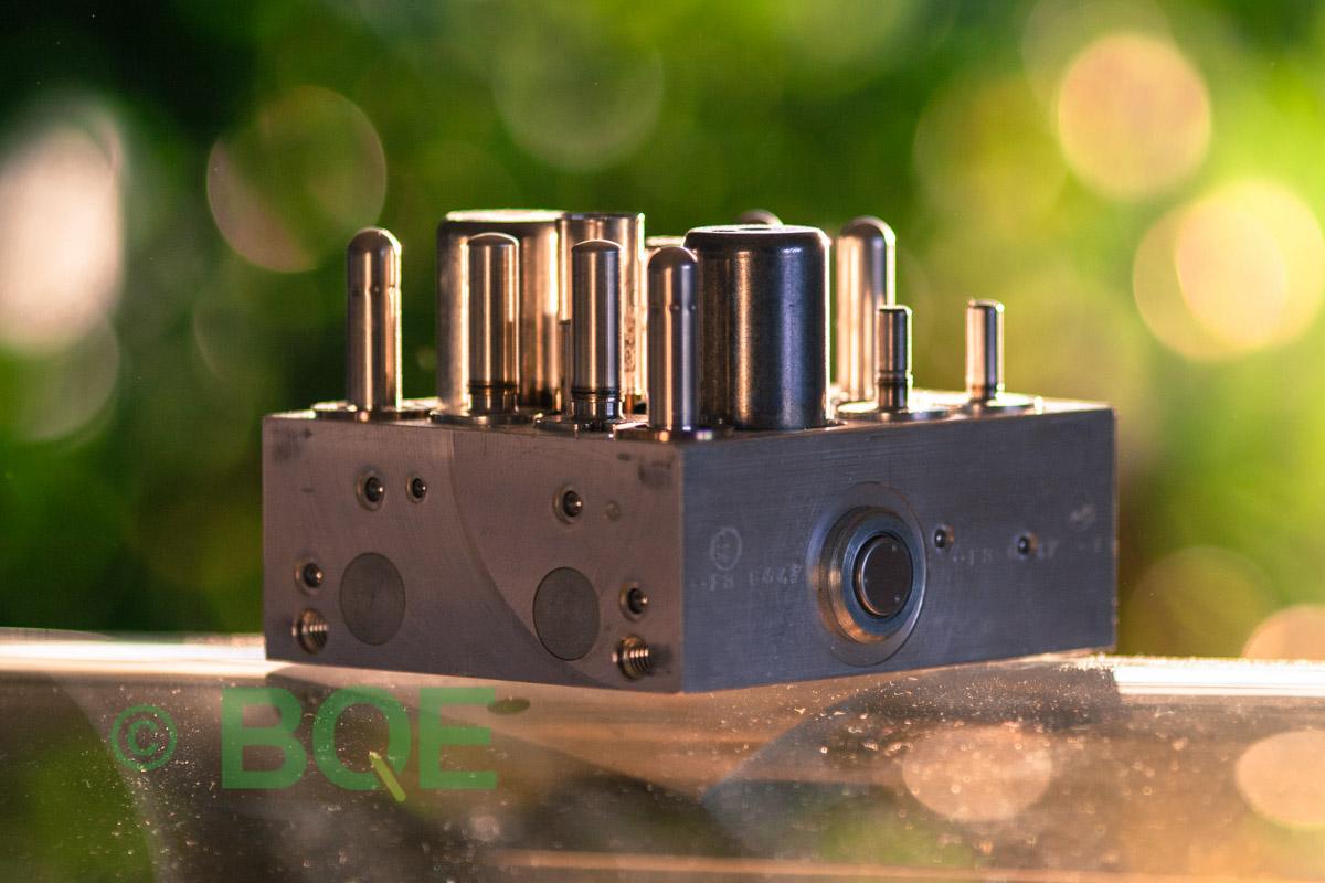 Opel ABS/ESP ATE Mk60, Artnr: 10096005233 , 10096005233, 13168728, Felkod: C0131, Bromstryckgivare, Hydraulblock, Vy: fäste/sida